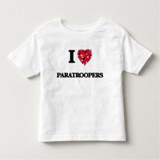 J'aime des parachutistes t-shirts