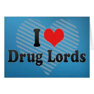 J'aime des parrains de la drogue cartes de vœux