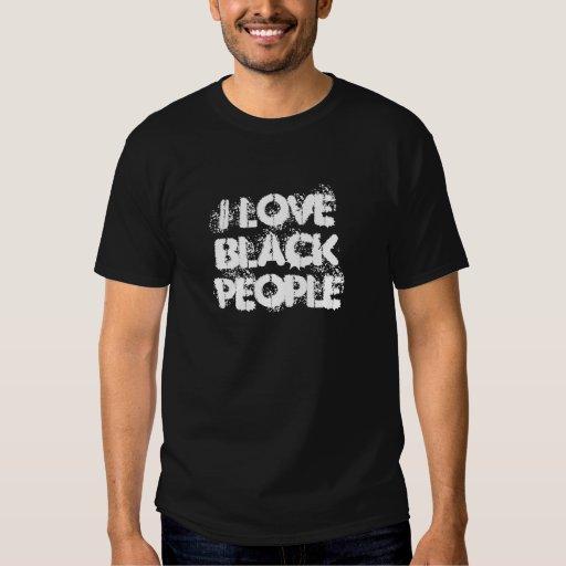 J'aime des personnes de couleur t-shirt