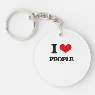 J'aime des personnes porte-clé
