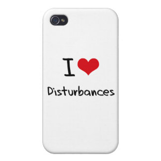 J'aime des perturbations iPhone 4 case