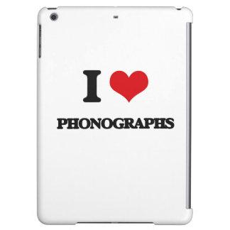 J'aime des phonographes