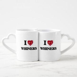J'aime des pleurnichards mugs amoureux