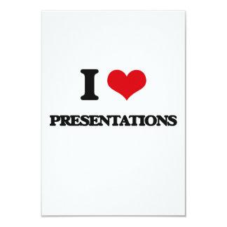 J'aime des présentations invitations