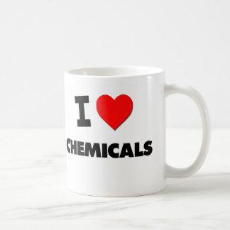 J'aime des produits chimiques mug à café