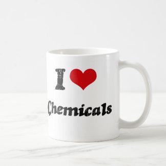 J'aime des produits chimiques tasse
