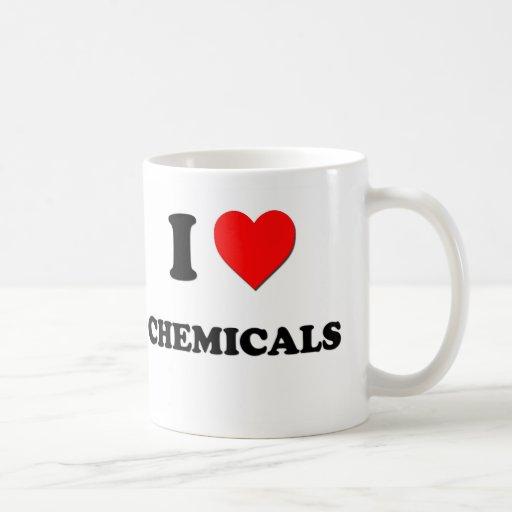J'aime des produits chimiques tasse à café