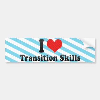 J'aime des qualifications de transition autocollant pour voiture
