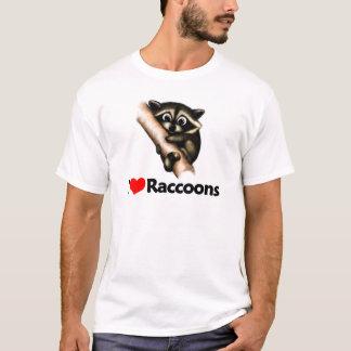 J'aime des ratons laveurs t-shirt