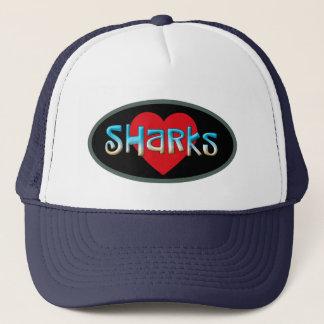 J'aime des requins casquette