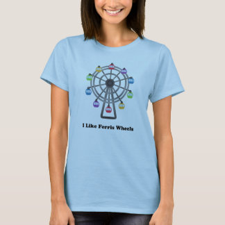 J'aime des roues de Ferris T-shirt