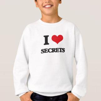 J'aime des secrets sweatshirt