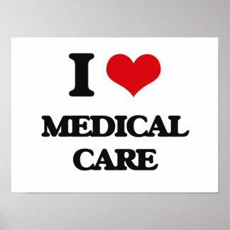 J'aime des soins médicaux