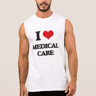 J'aime des soins médicaux tee-shirt sans manches
