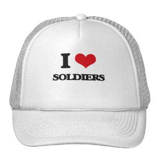 J'aime des soldats casquettes