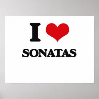 J'aime des sonates poster