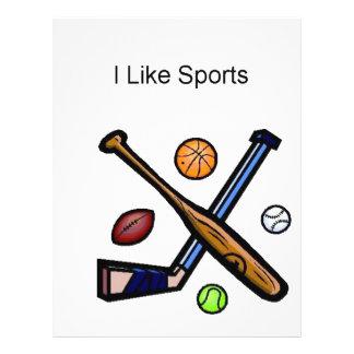 J'aime des sports prospectus customisé
