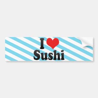 J'aime des sushi autocollants pour voiture