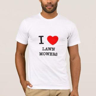J'aime des tondeuses à gazon t-shirt