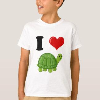 J'aime des tortues t-shirt