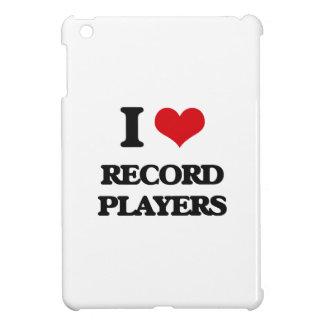 J'aime des tourne-disques coques pour iPad mini