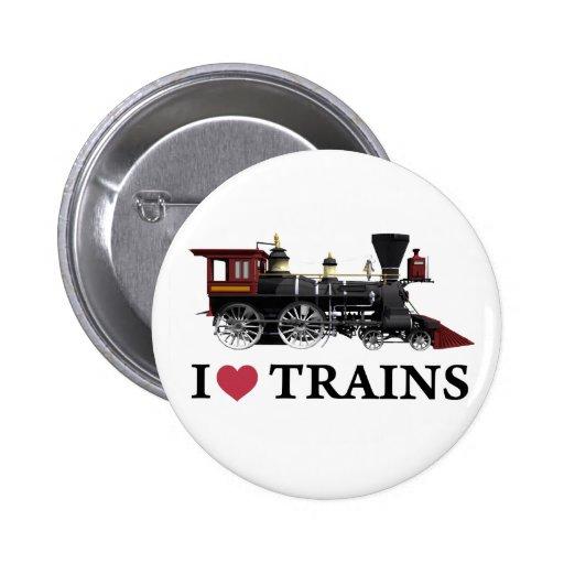J'aime des trains badge