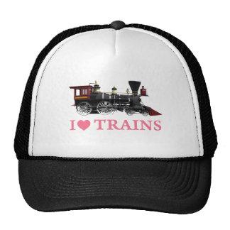 J'aime des trains casquette