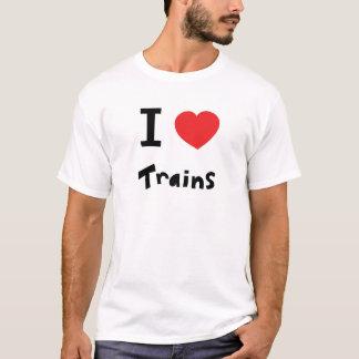 J'aime des trains t-shirt