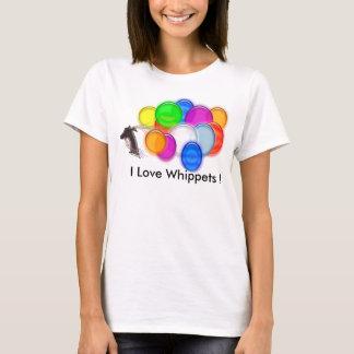 J'aime des whippets ! t-shirt