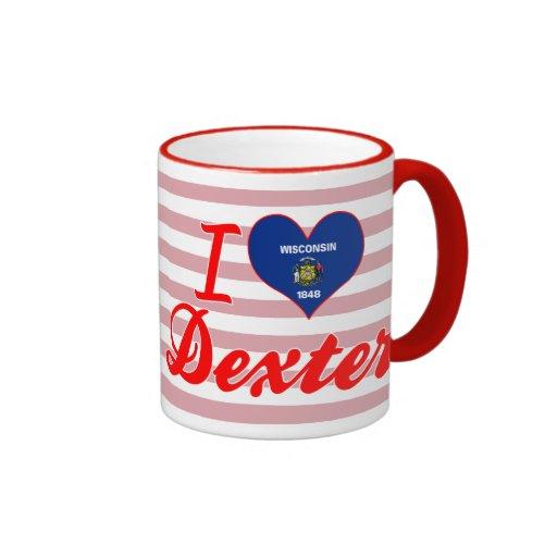 J'aime Dexter, le Wisconsin Mug À Café