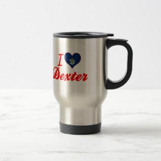 J'aime Dexter, Maine Tasse