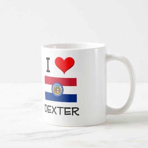 J'aime Dexter Missouri Tasses À Café