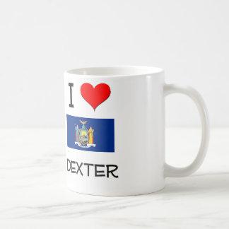 J'aime Dexter New York Mug Blanc