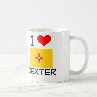 J'aime Dexter Nouveau Mexique Mug Blanc