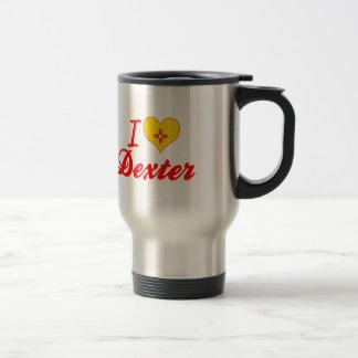 J'aime Dexter, Nouveau Mexique Mug À Café