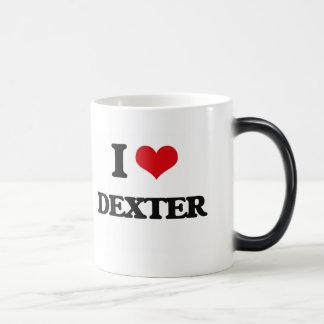 J'aime Dexter Mug Magique