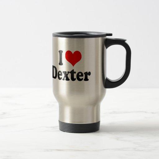 J'aime Dexter Tasse À Café