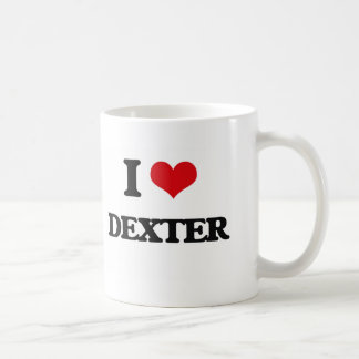 J'aime Dexter Mug Blanc