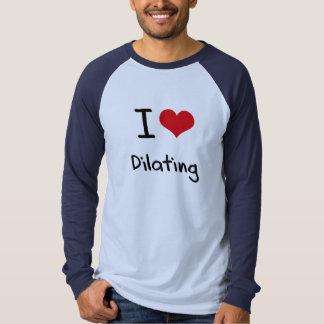 J'aime dilater t-shirts