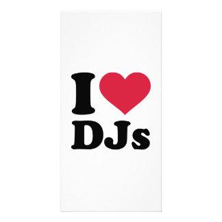 J'aime DJs Photocartes