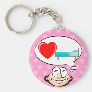 J'aime dormir porte-clés