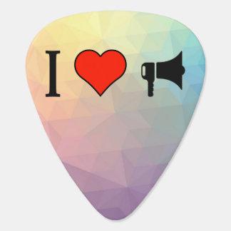 J'aime employer un haut-parleur bruyant onglet de guitare