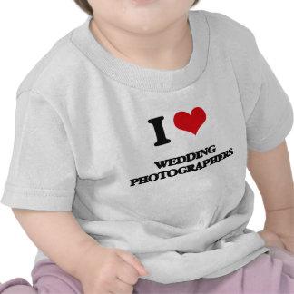 J'aime épouser des photographes t-shirts