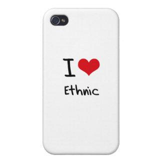 J'aime ethnique coques iPhone 4