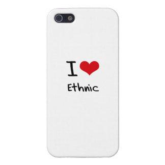 J'aime ethnique coques iPhone 5