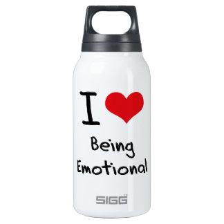 J'aime être émotif