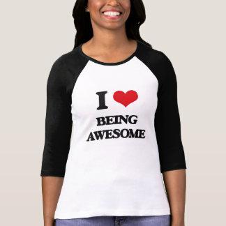 J'aime être impressionnant t-shirt