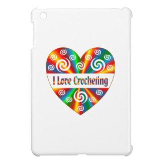 J'aime faire du crochet coques pour iPad mini
