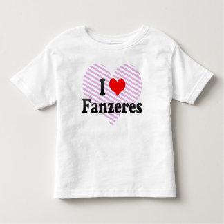 J'aime Fanzeres, Portugal T-shirts