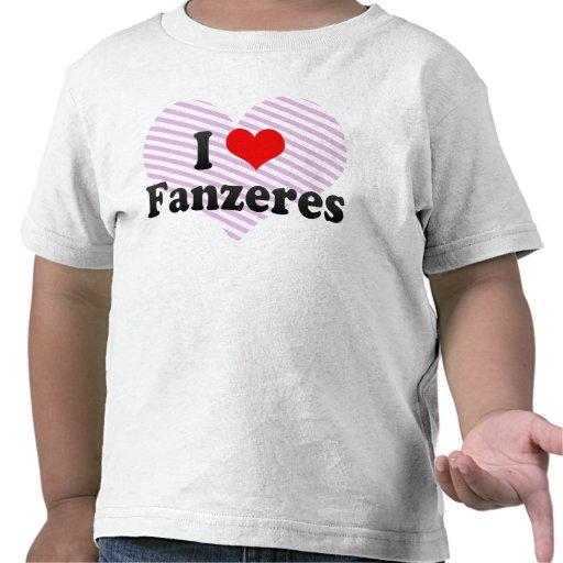 J'aime Fanzeres, Portugal T-shirt